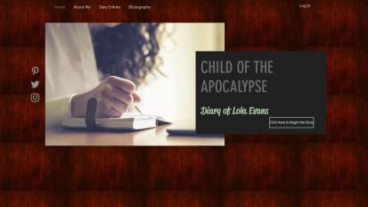 Child of the Apocalypse Fictional Diary