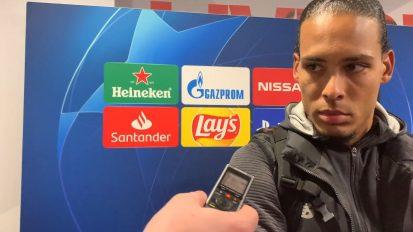Post Match Interview – Virgil van Dijk