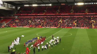 First Women's Merseyside Derby at Anfield