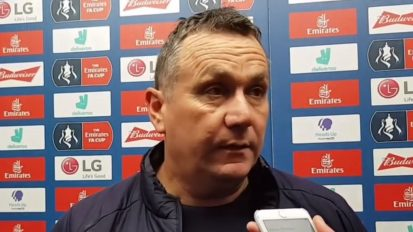 Pre-Match Interview with Micky Mellon