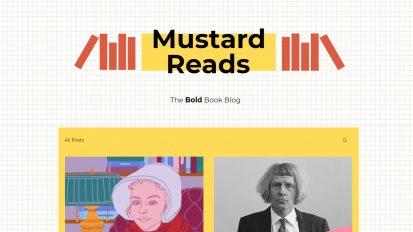Mustard Reads – The Bold Book Blog